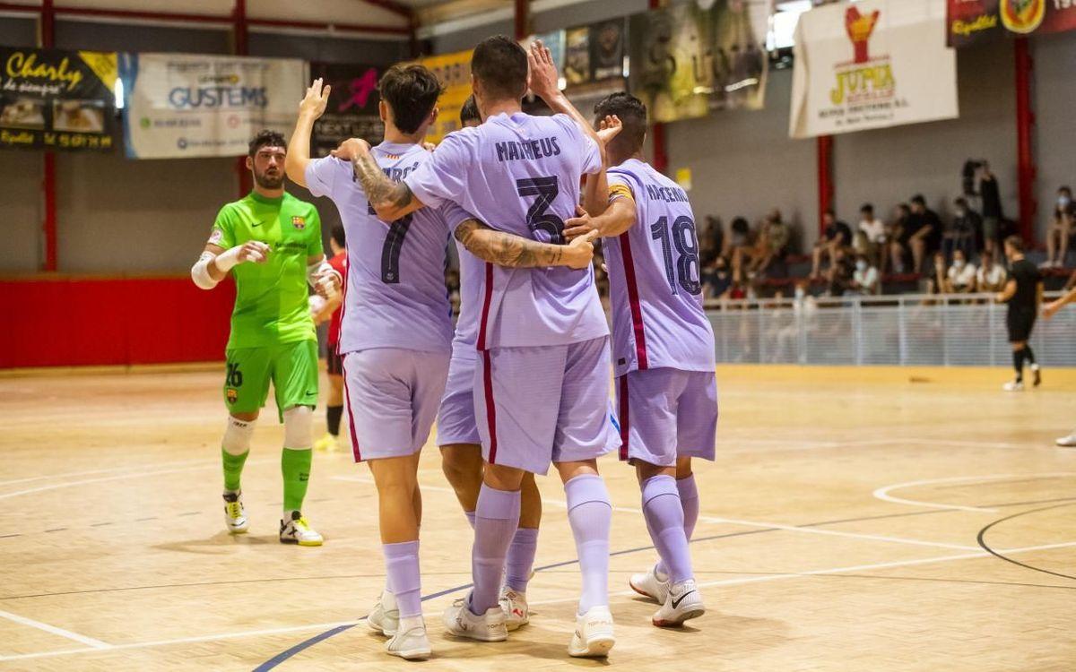Velasco debuta con buenas sensaciones ante el FS Ripollet (0-7)