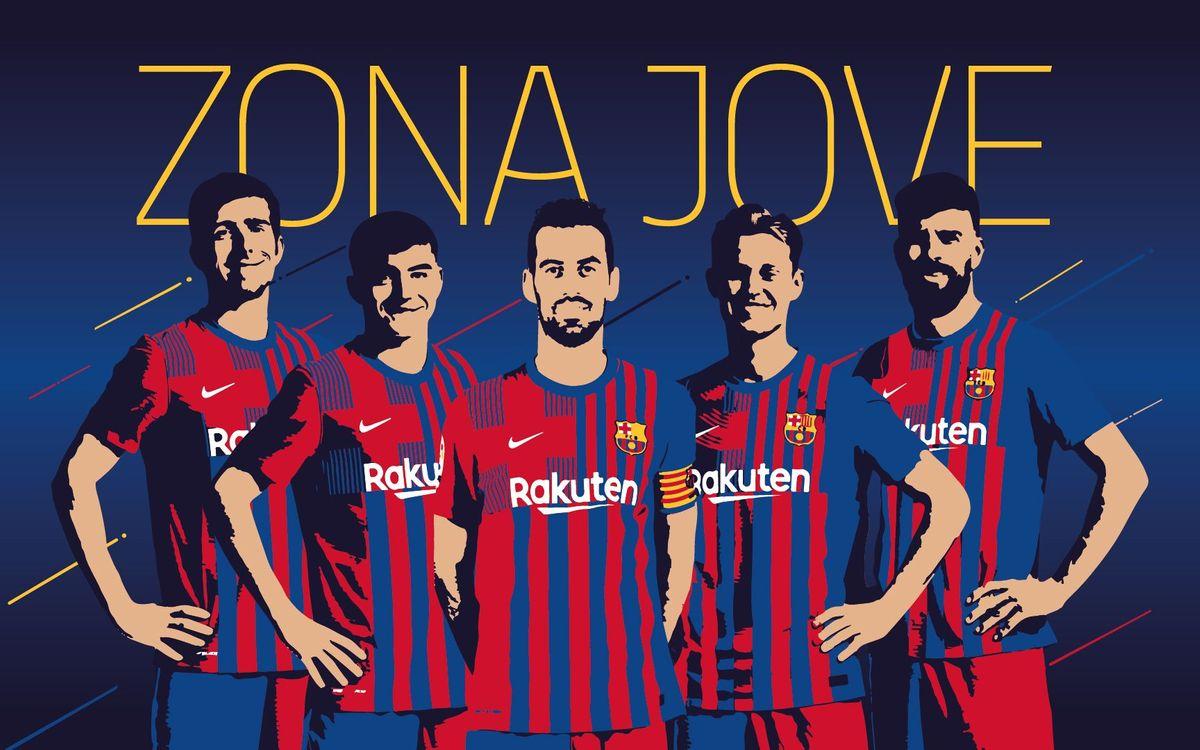 Bienvenido a la Zona Jove del FC Barcelona!
