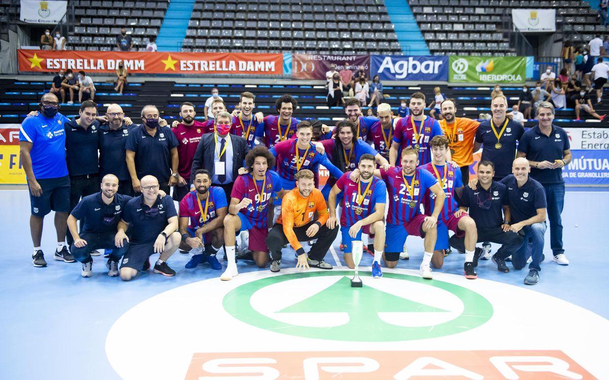 Barça 36-26 Fraikin Granollers: 21st Catalan Super Cup!