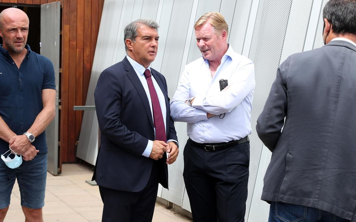 Laporta: 'Koeman has all our respect and confidence so he can work comfortably'