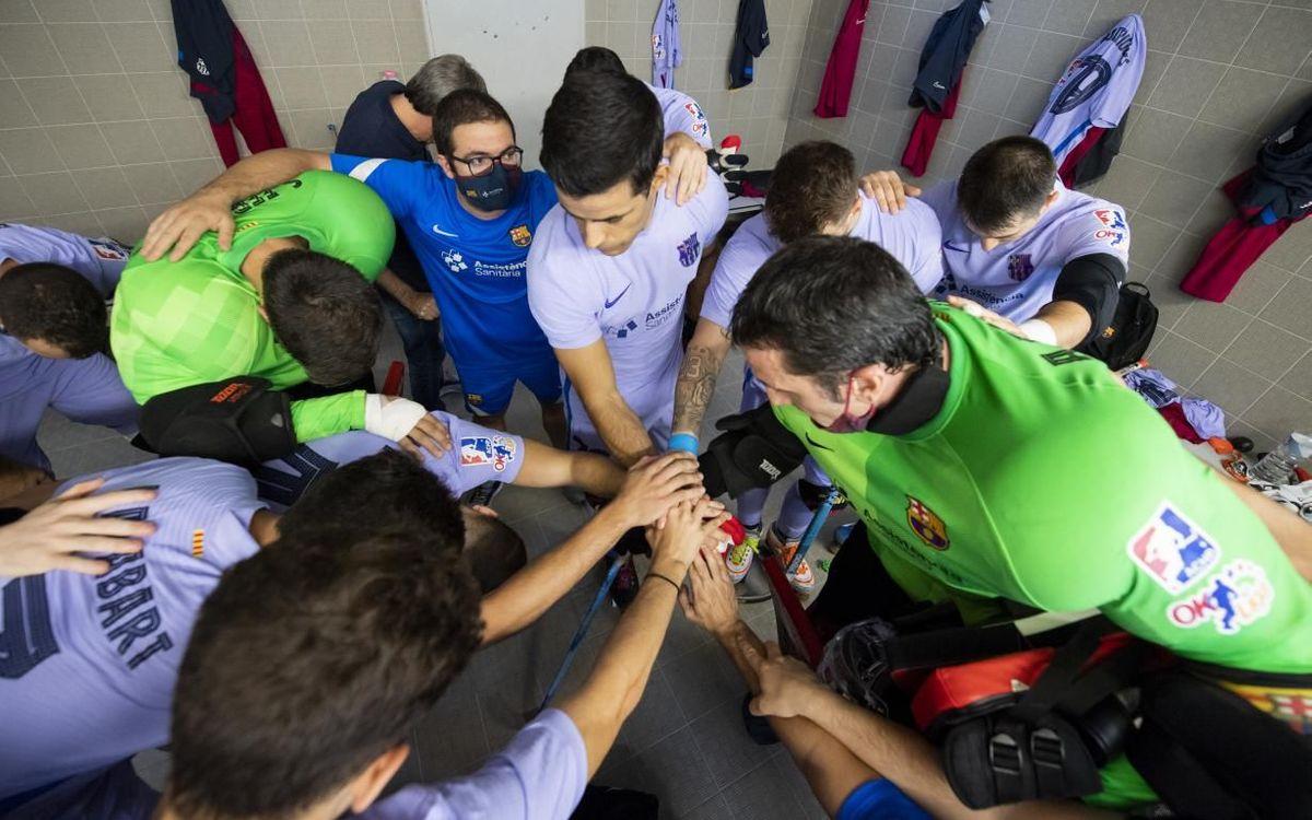 Barça – Noia Freixenet: A per la Supercopa!