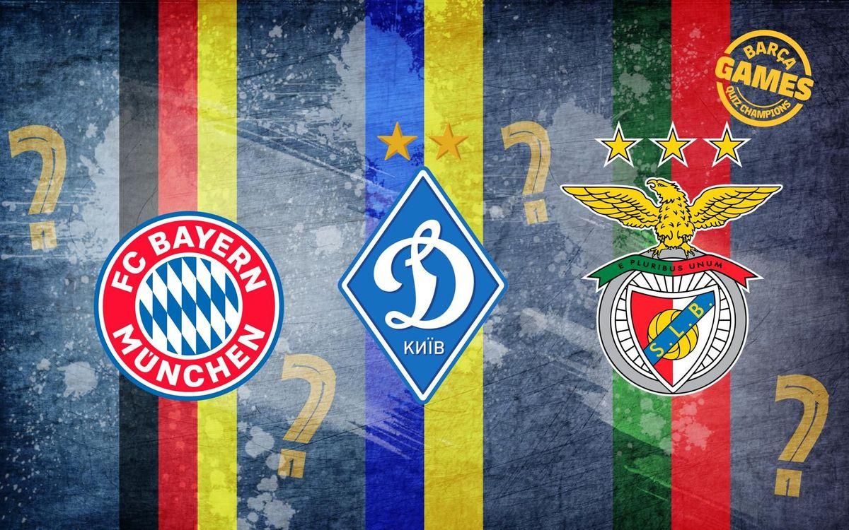 QUIZ | Bayern, Dynamo Kyiv or Benfica?