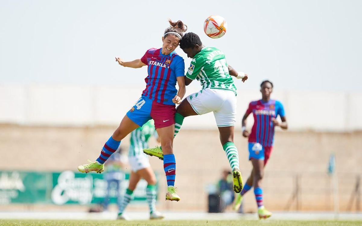 Betis 0-5 Barça: Women get five again