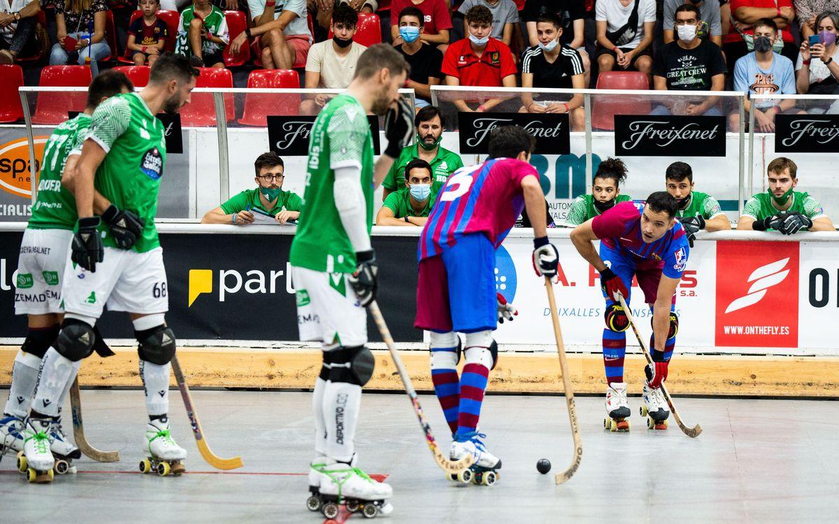 Deportivo Liceo - Barça: Sotscampions de la Supercopa d'Espanya (3-2)