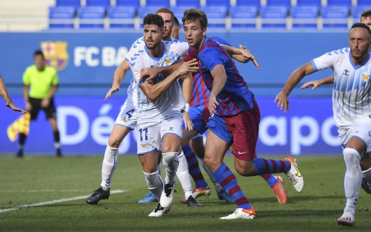 Barça B 0-0 UE Costa Brava: Still seeking first win