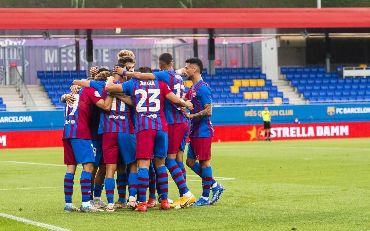 Barça B – UE Costa Brava: Busquen la primera victòria del curs