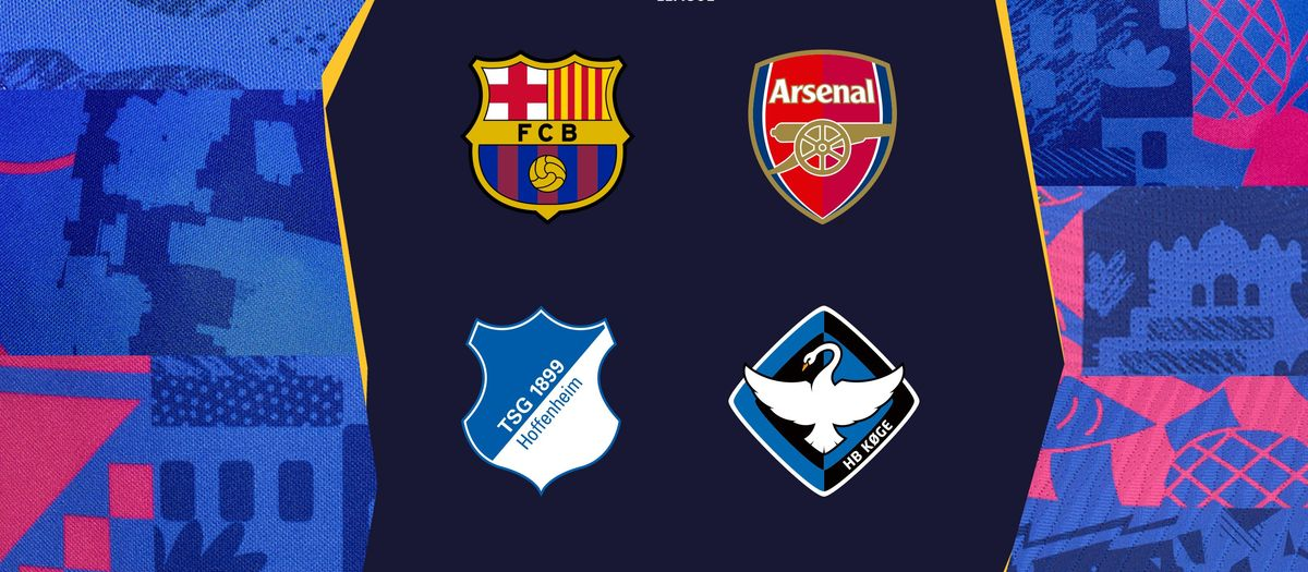 Barça Women draw Arsenal, Hoffenheim and Køge in group stage