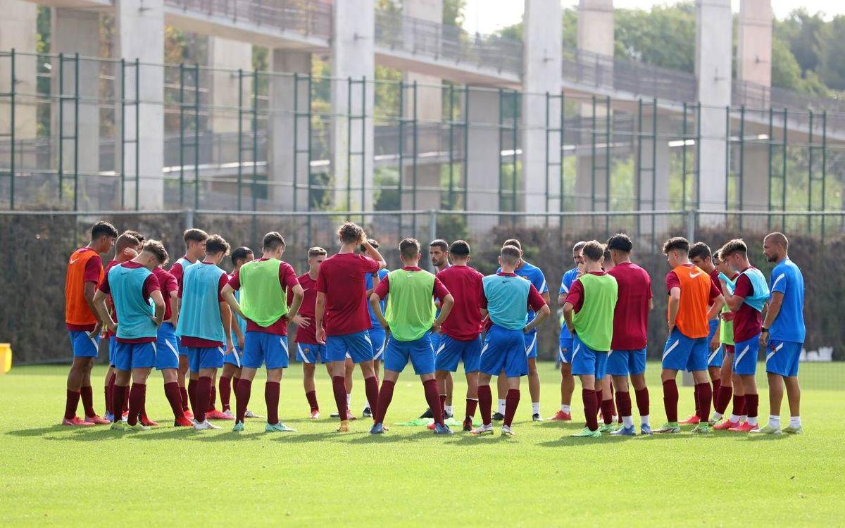 Barça U19A v Bayern U19: the wait is over