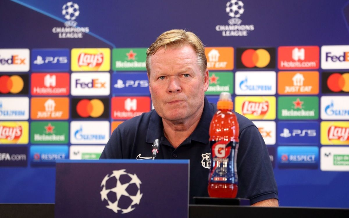Ronald Koeman says Barça can cause Bayern problems