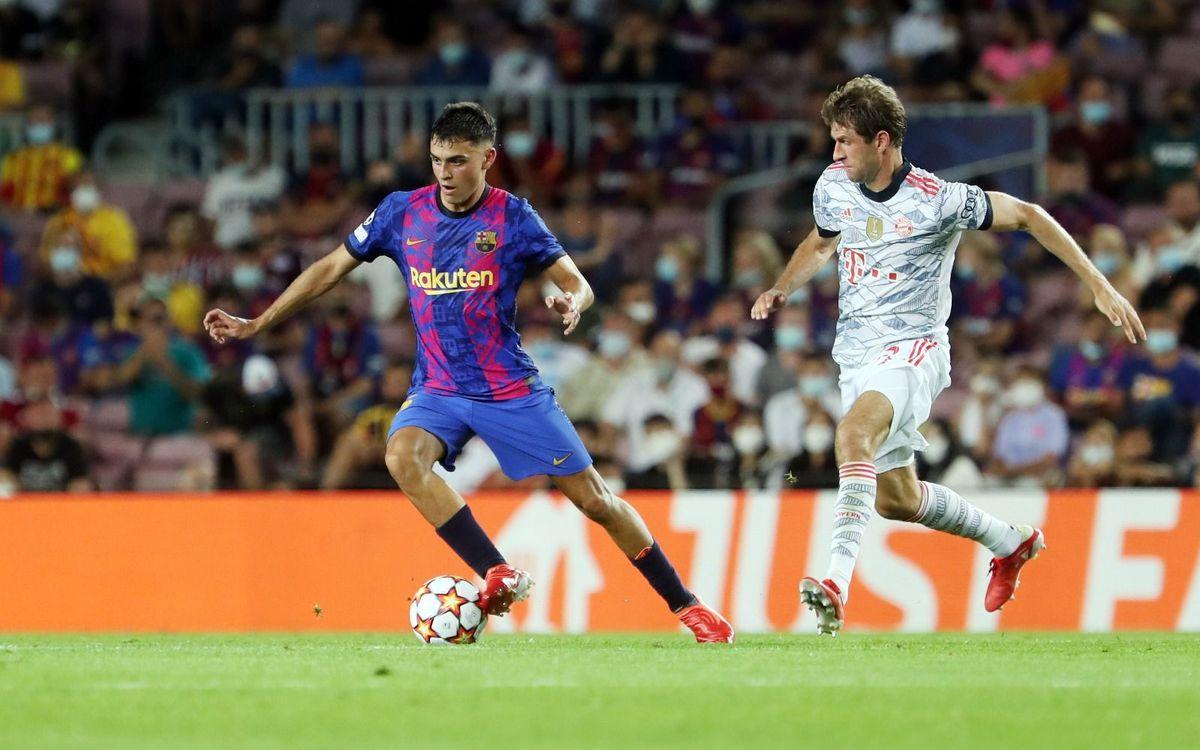 FC Barcelona - Bayern de Múnich: El Barça no puede con el Bayern en el  debut europeo (