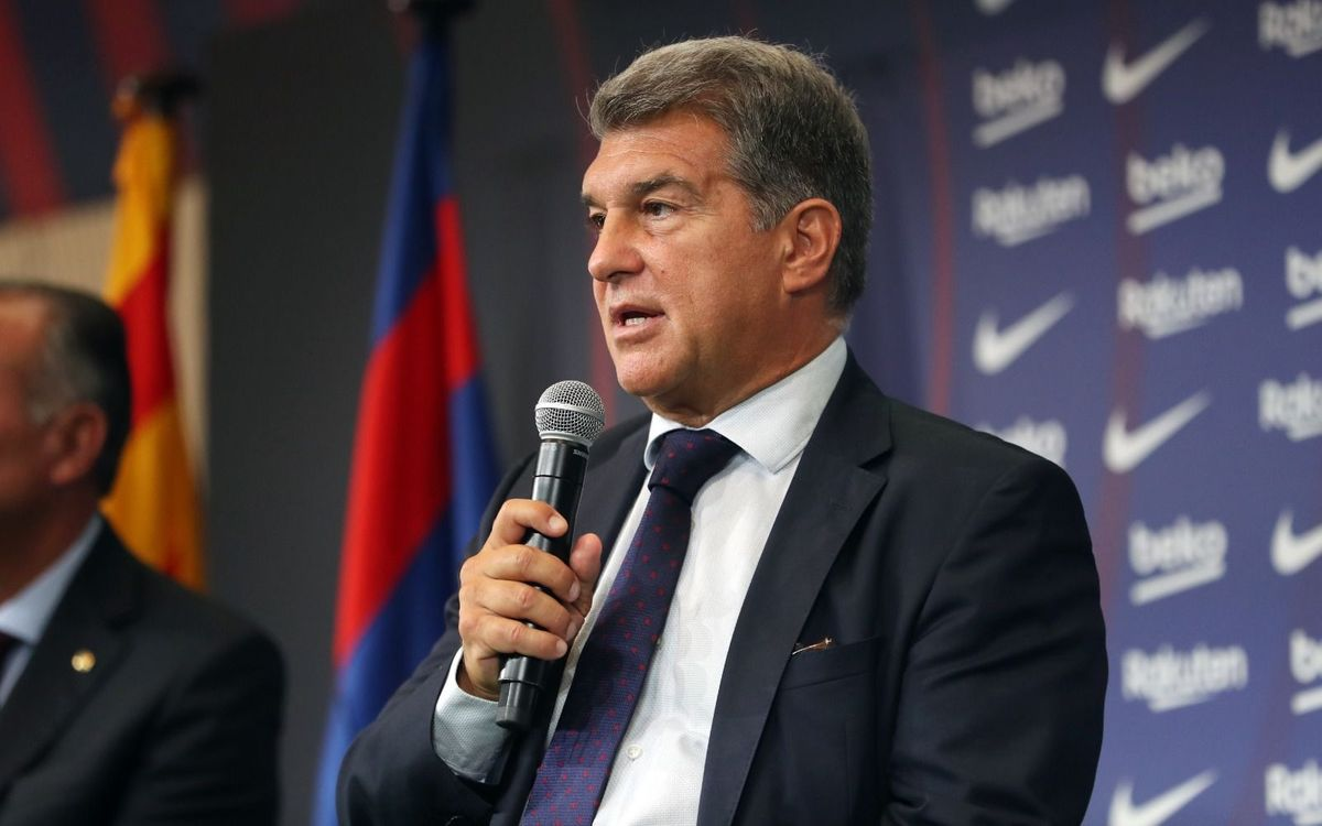 Laporta: 'I ask for your patience and confidence'