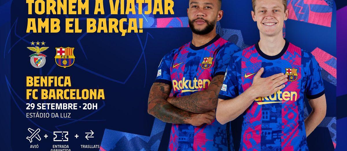 Tornen els viatges per seguir el Barça a la Champions