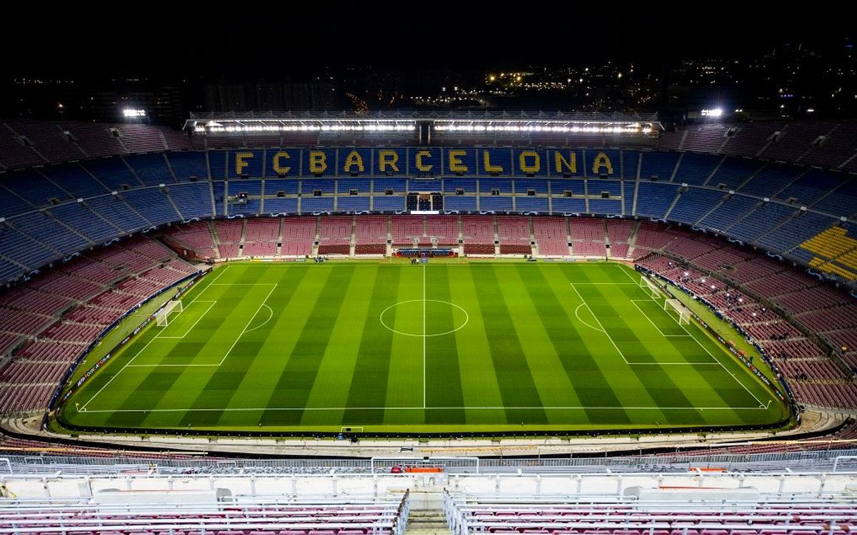 Tickets for the League first round at Camp Nou available