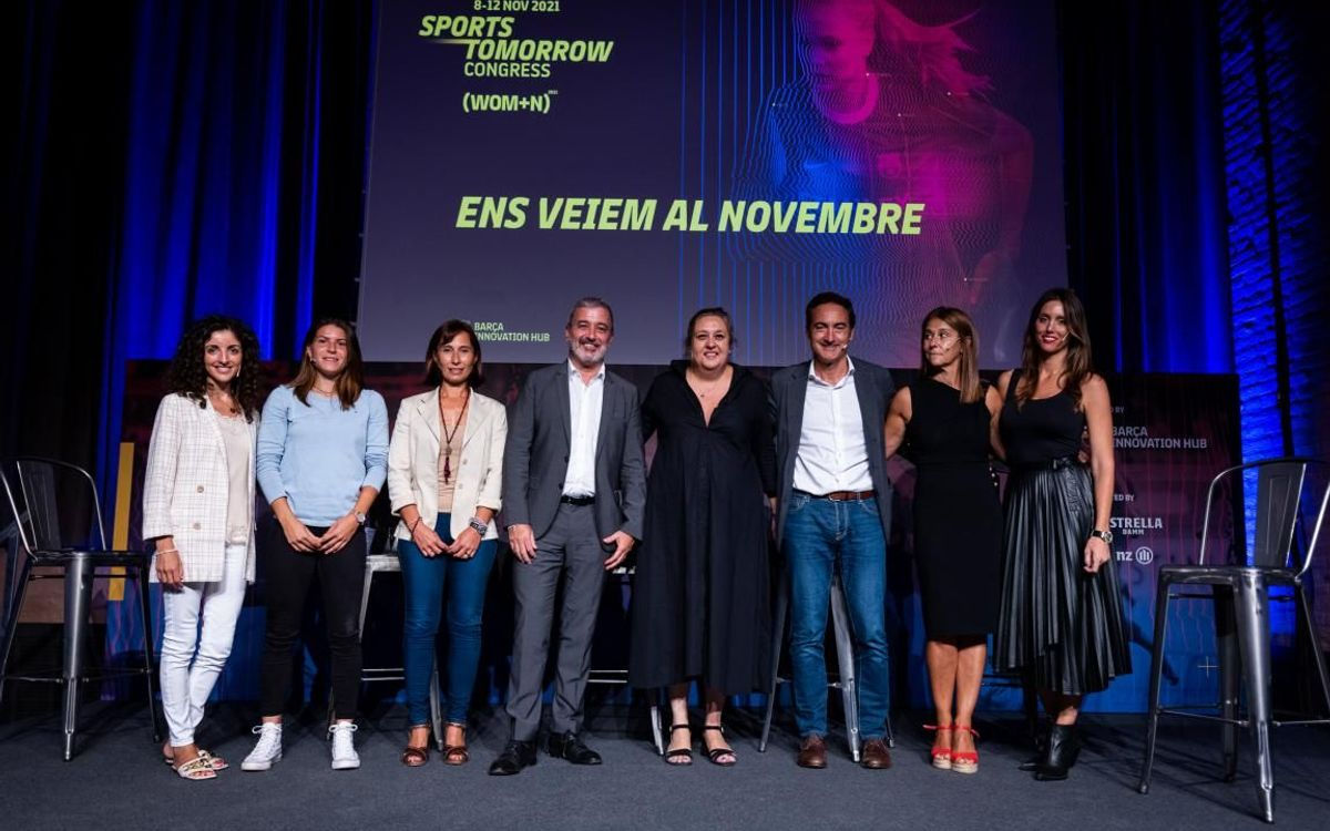 FC Barcelona presents Sports Tomorrow Congress 2021 with special focus on women