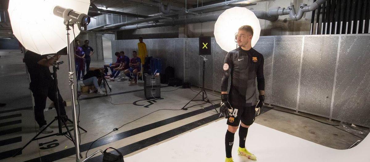 Sesión de fotos del Barça B