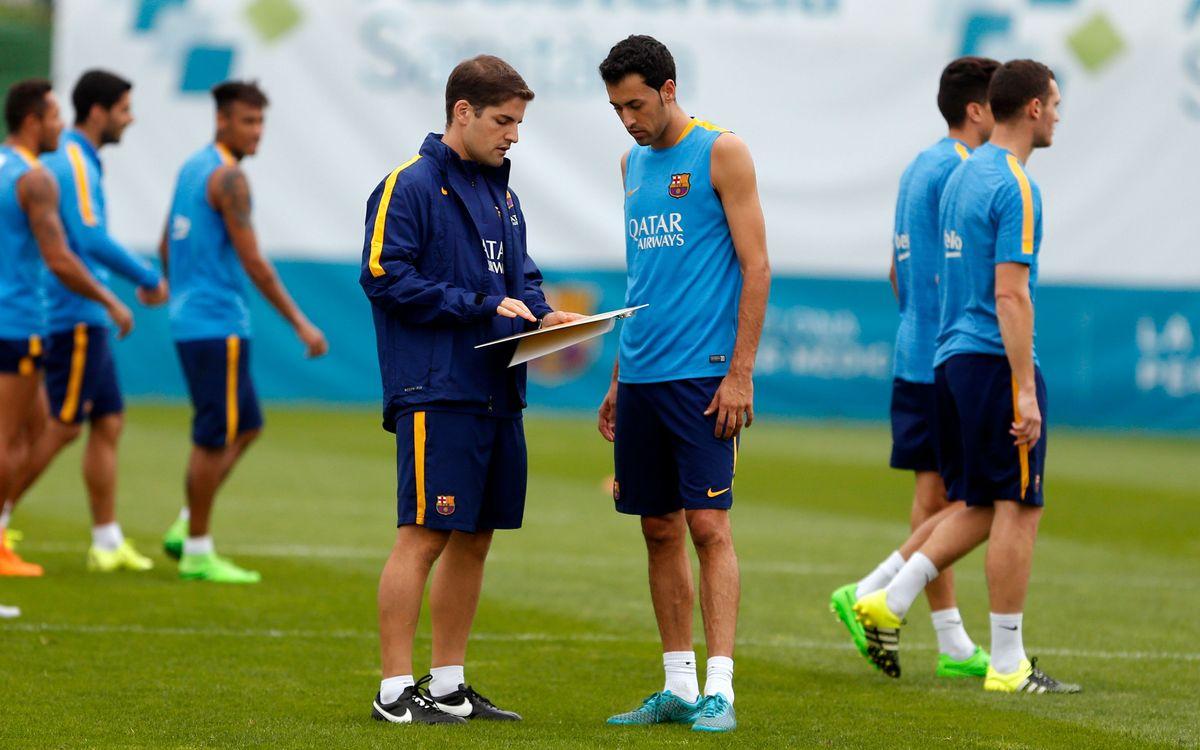 Robert Moreno returns to Camp Nou