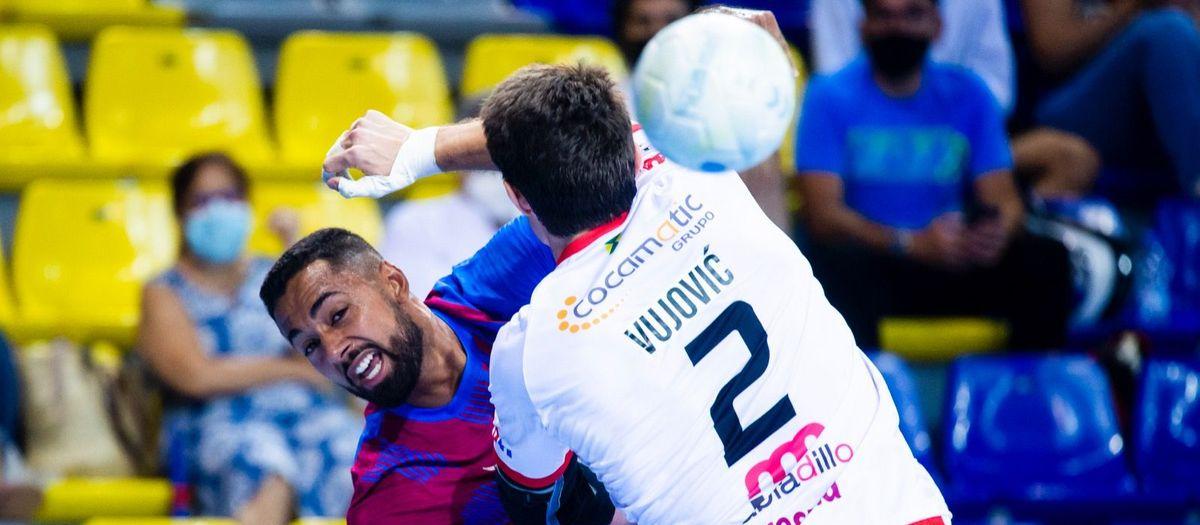 Barça 44-34  Viveros Herol Nava: Winning start at the Palau