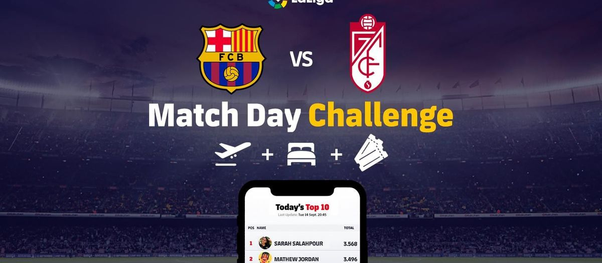The Match Day Challenge is on!