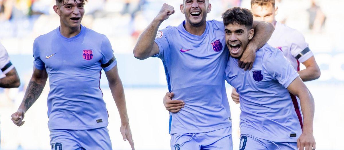Sabadell - Barça B: Llega la primera victoria (1-3)