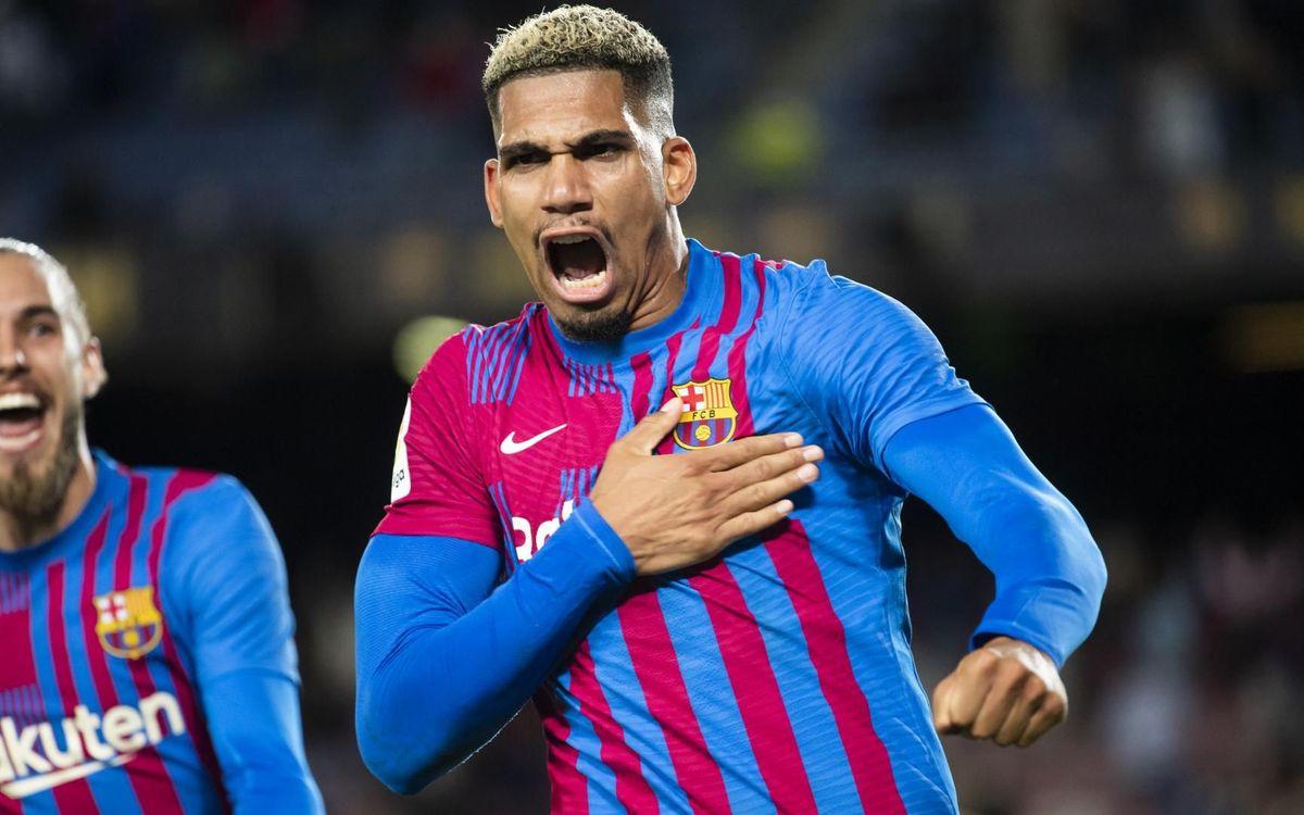 Araujo's outstanding performance against Granada