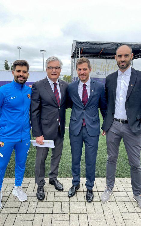 La Barça Academy Varsovia celebra su décimo aniversario