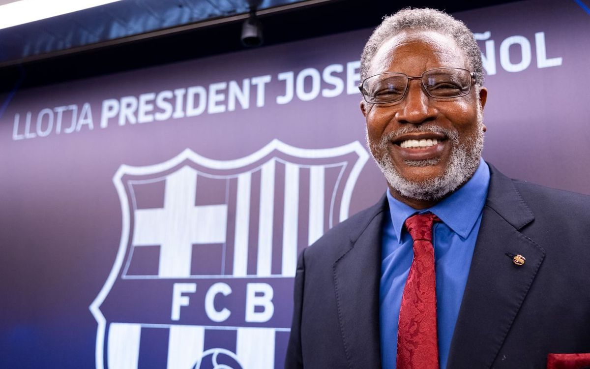 Audie Norris, nou ambaixador del FC Barcelona
