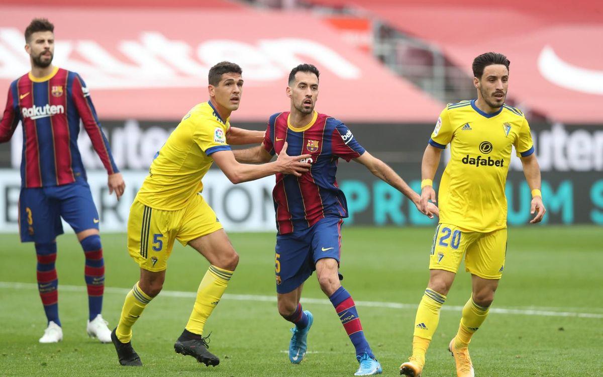 El que cal saber sobre el Cadis - Barça