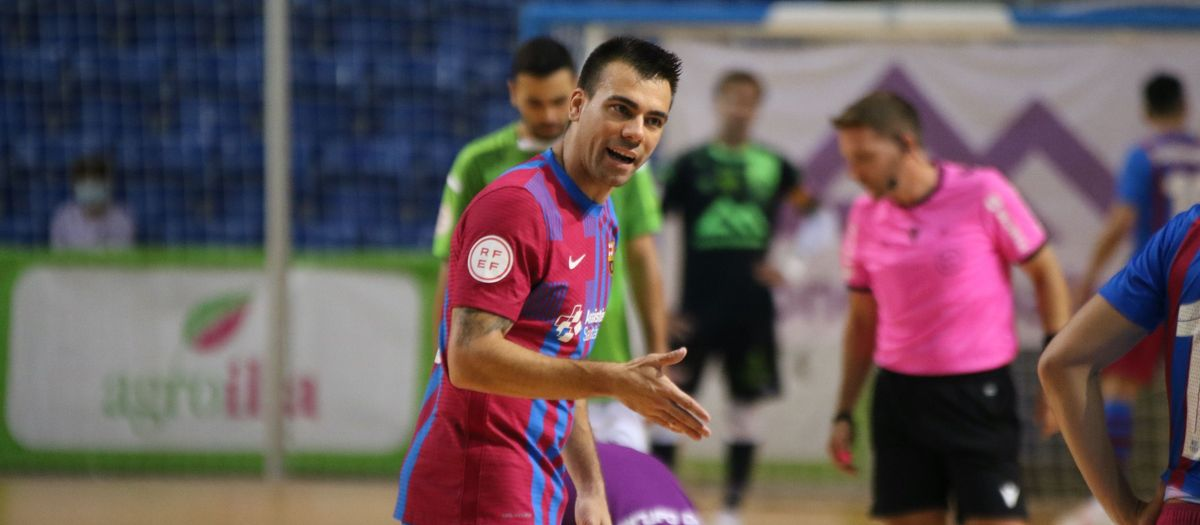 Palma Futsal 1-0 Barça: Sergio Lozano back at last