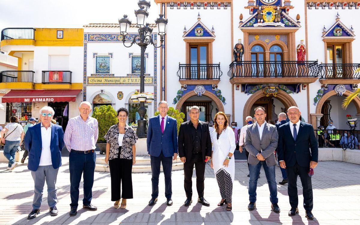 Laporta amb penyes d'Andalusia (Palos de la Frontera)