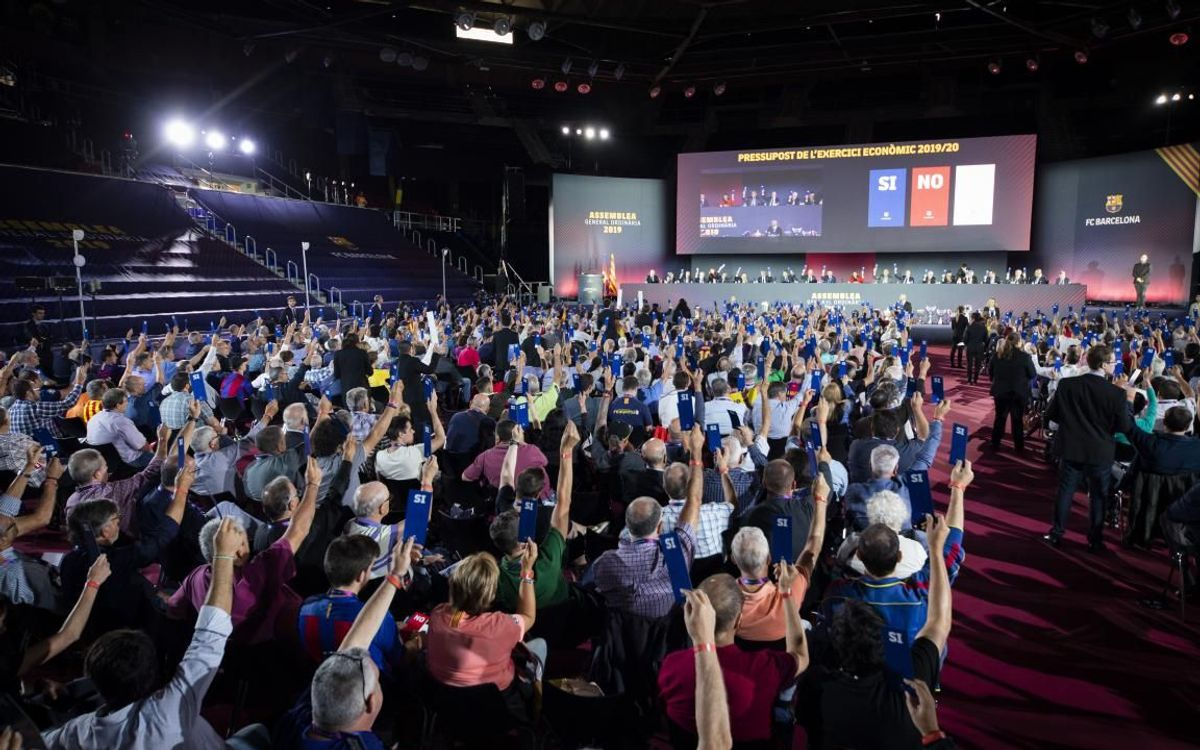 Palau Blaugrana to host FC Barcelona Ordinary General Assembly on Sunday 17 October
