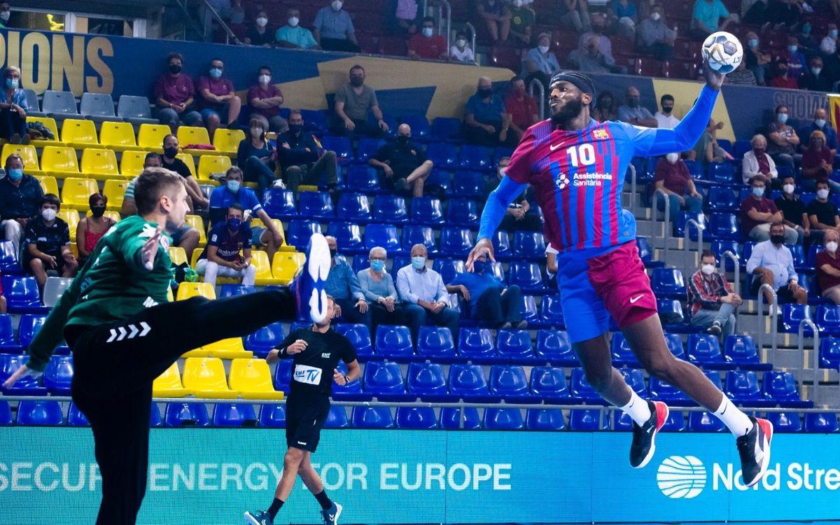 Barça - HC Motor: Nou curs europeu, mateix fortí inexpugnable (36-25)