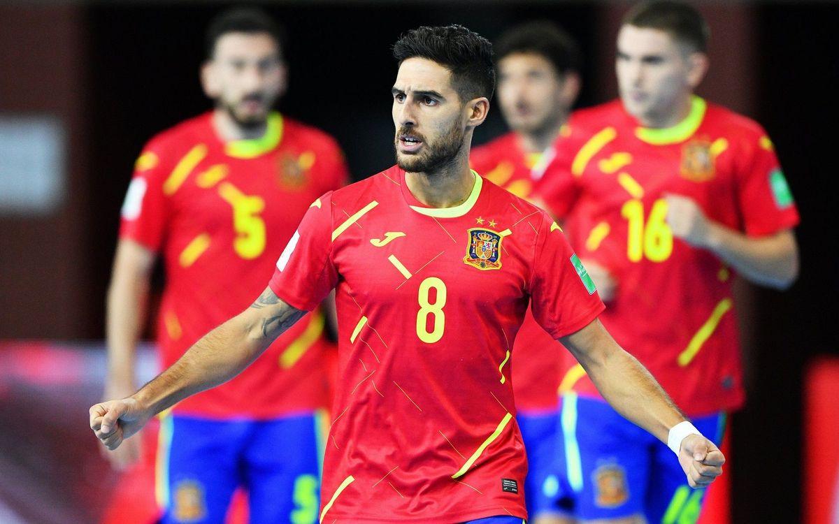 Els set del Barça, a quarts del Mundial amb exhibició