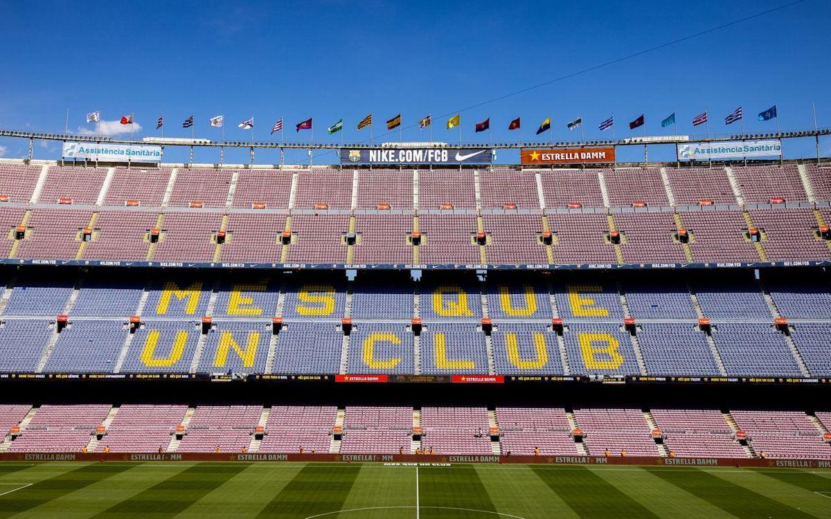Els socis abonats sense excedència podran assistir al partit contra el València amb el carnet físic o digital i seure al seu lloc