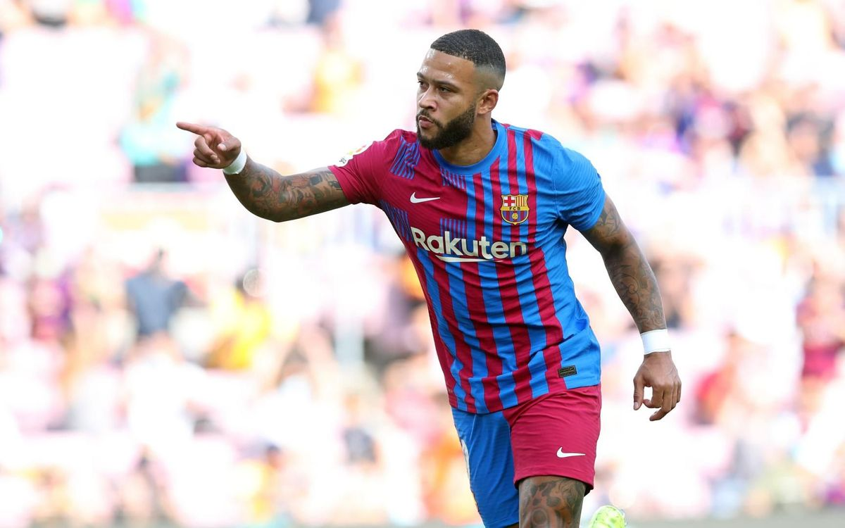 Memphis nominated for LaLiga September Player of the Month