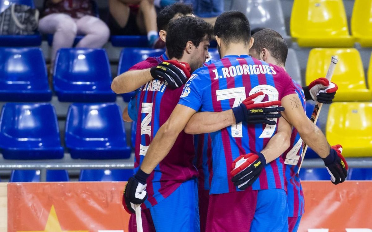 Barça 11–1 Igualada Rigat: Goal fest in the first game of the season at the Palau