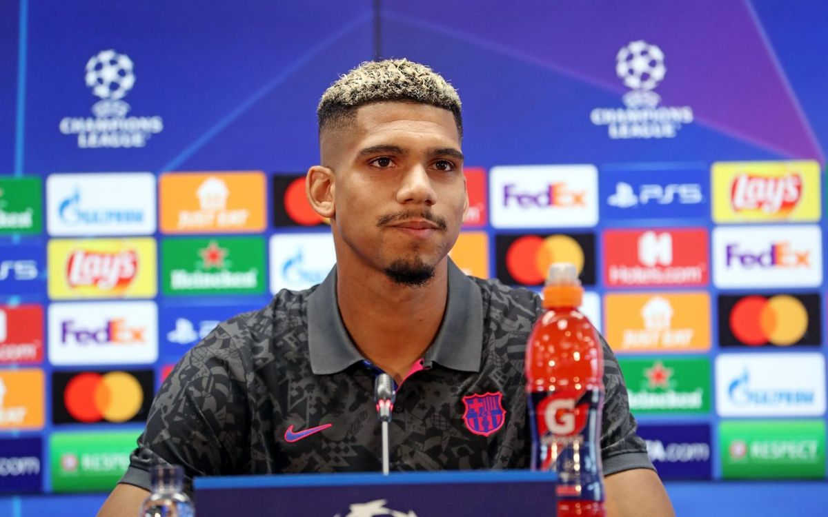 Ronald Araujo says Barça want to challenge for 'everything'