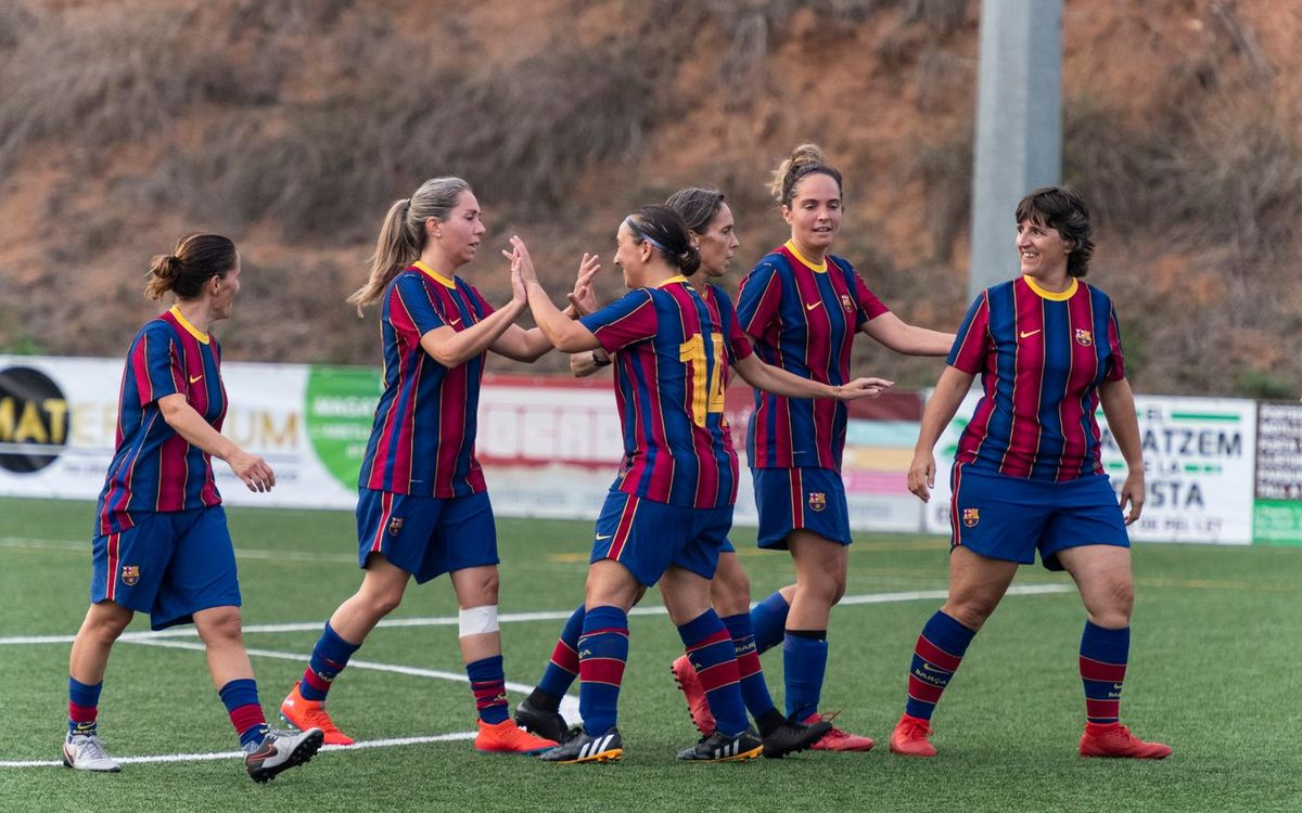 L'AJFCB Femení torna als camps amb un amistós amb El Figaró (4-1)
