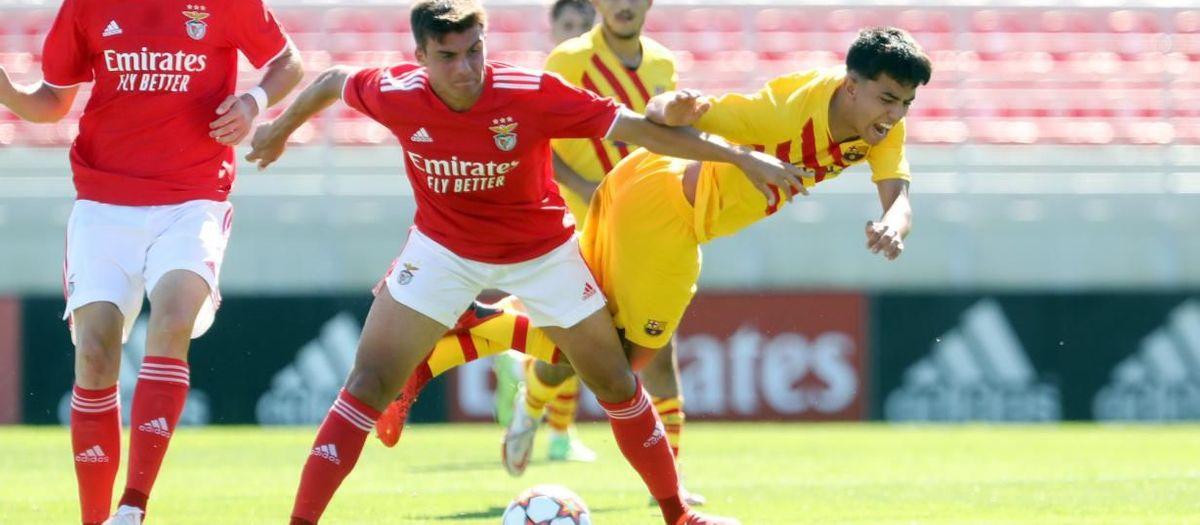 Benfica - Juvenil A: Dura derrota en Lisboa (4-0)
