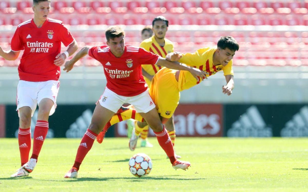 Benfica U19 4-0 Barça U19A: Heavy defeat in Lisbon