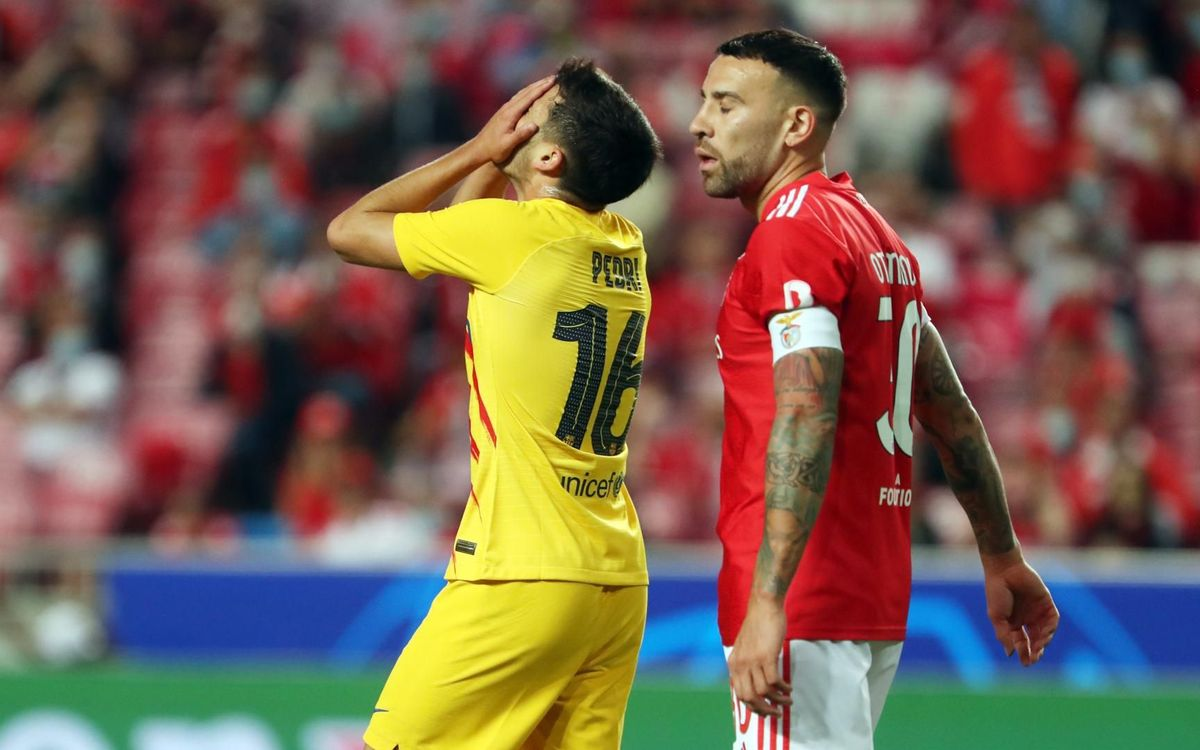 ベンフィカ - FC バルセロナ: 辛い連敗
