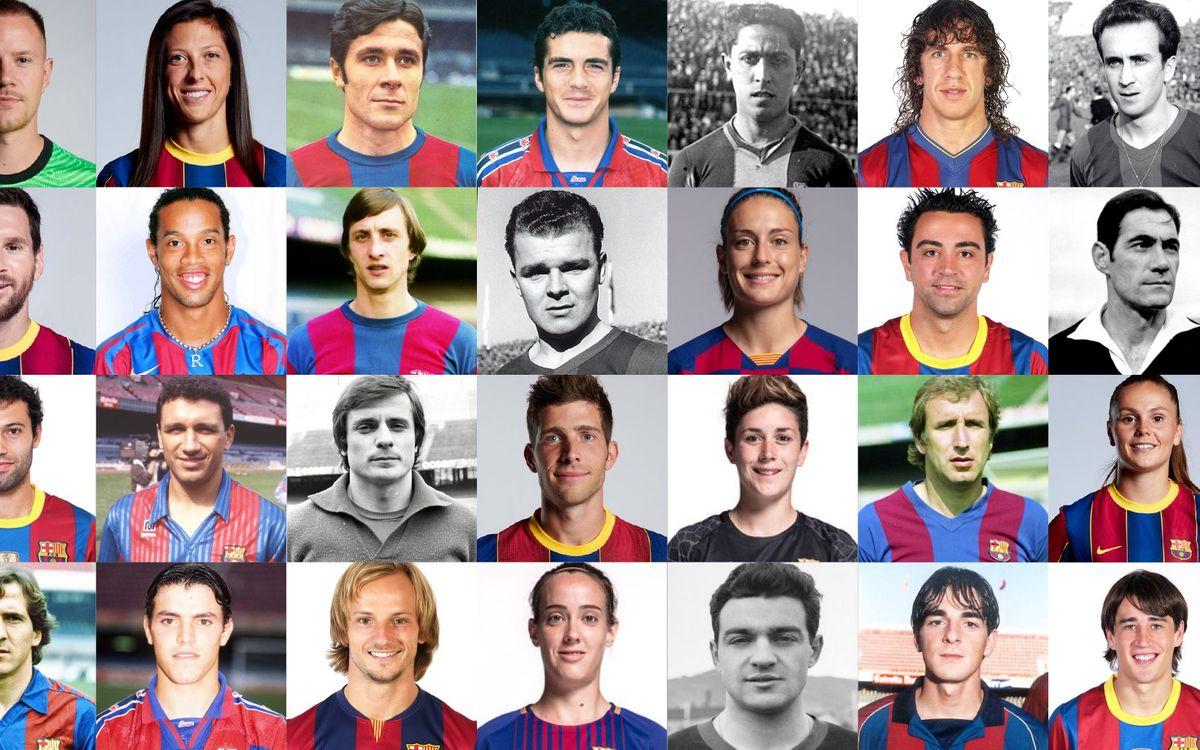 Players, la nova web de l'Agrupació amb tots els exfutbolistes del FC Barcelona
