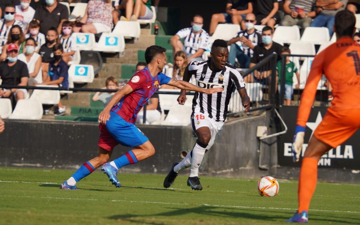 Castellón 2-0 Barça B: Defeat at Castalia