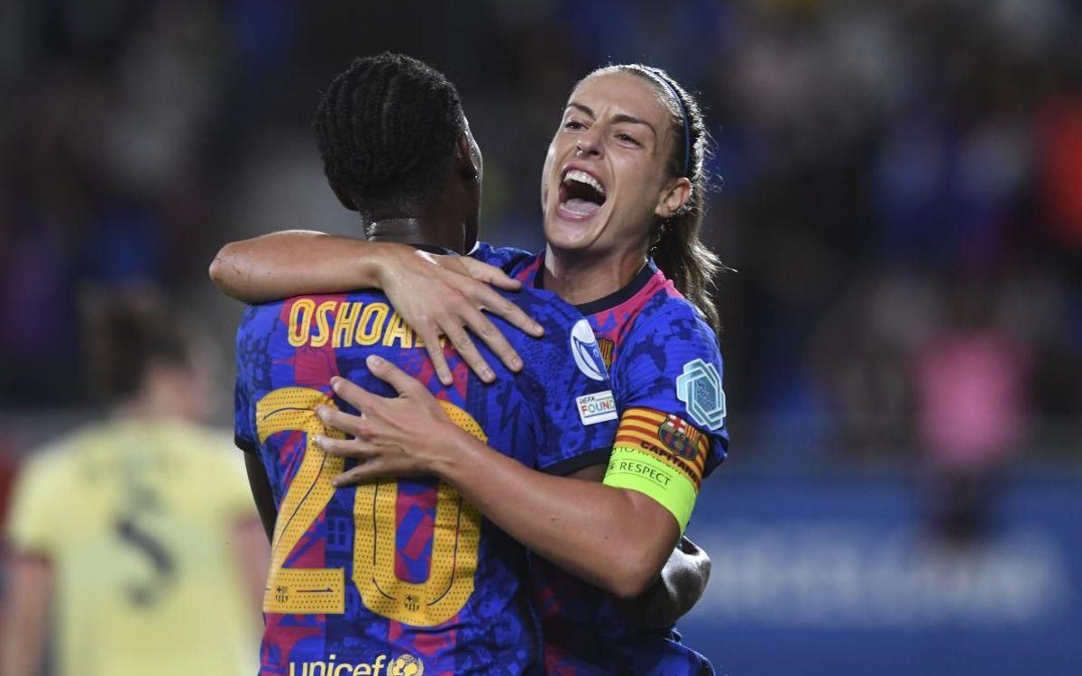 Barça Women 4-1 Arsenal: Triumphant start to the Champions League