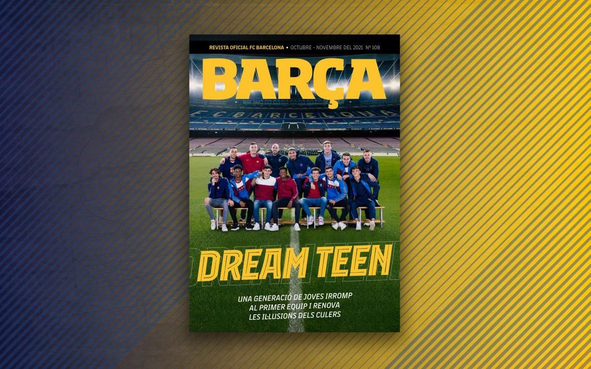 New digital edition of Revista Barça focuses on young talent