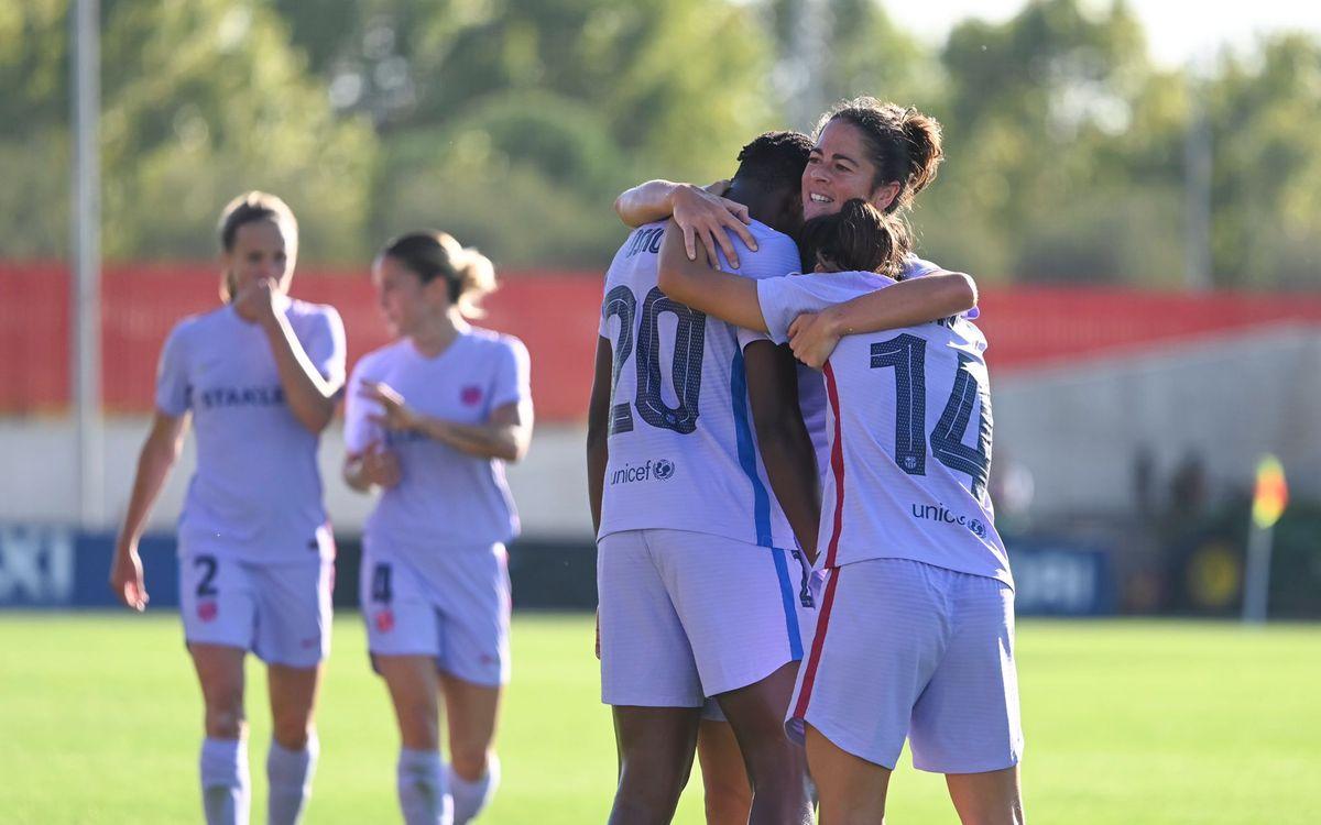 Atlético Madrid 0-3 Barça (women): Still going strong