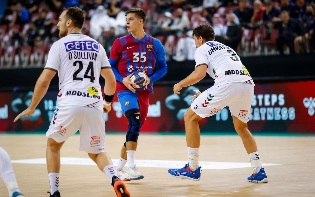 Magdeburg 33-28 Barça: Sixth Super Globe will have to wait