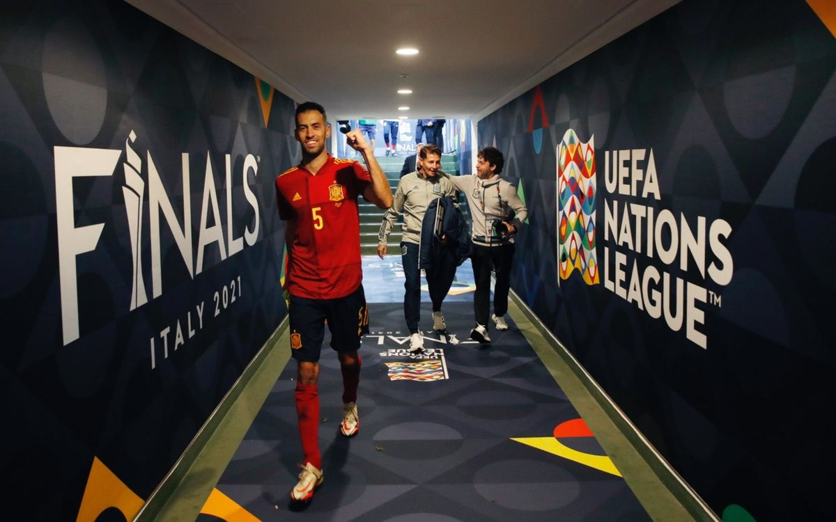 Four from Barça chasing UEFA Nations League glory