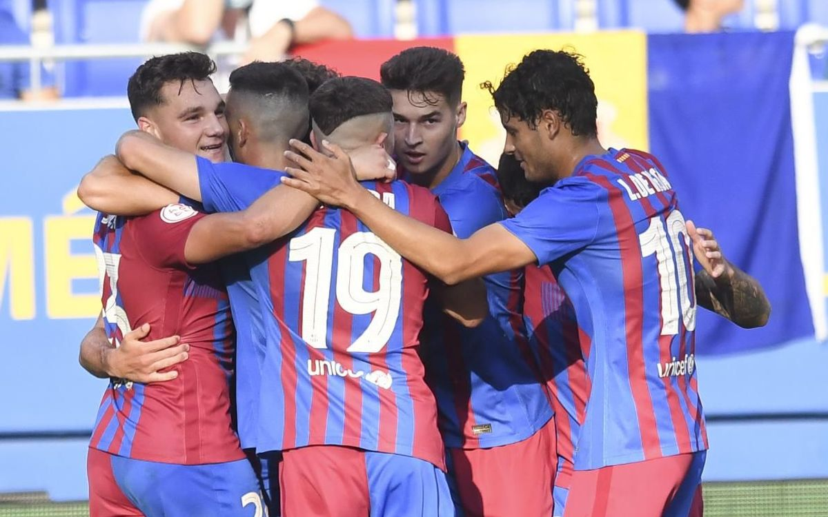 Barça B 2–1 FC Andorra: Made to work hard for the win