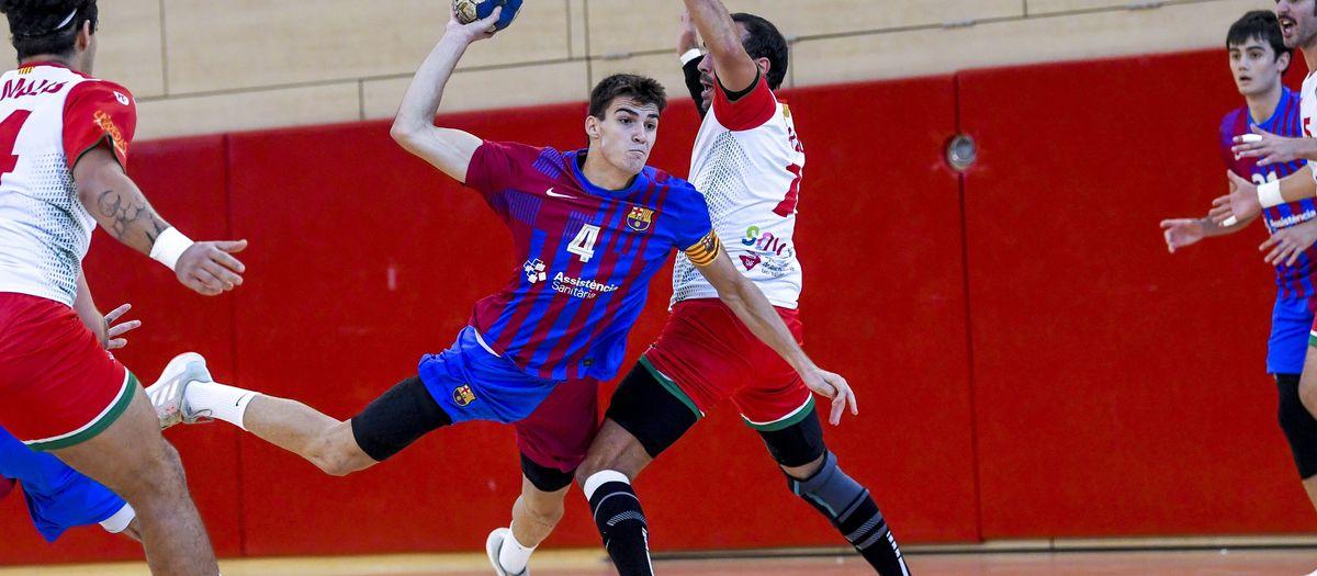 Barça B - Sant Quirze: Buen triunfo azulgrana (34-26)
