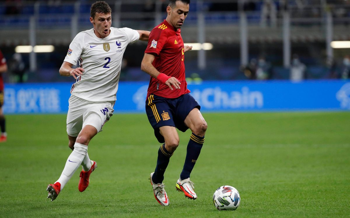 Sergio Busquets, MVP of the Nations League